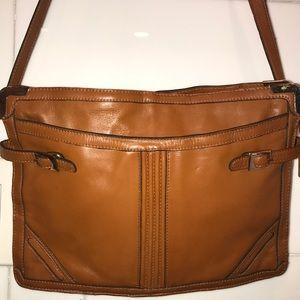 Vintage Length Shoulder/ Crossbody Bag